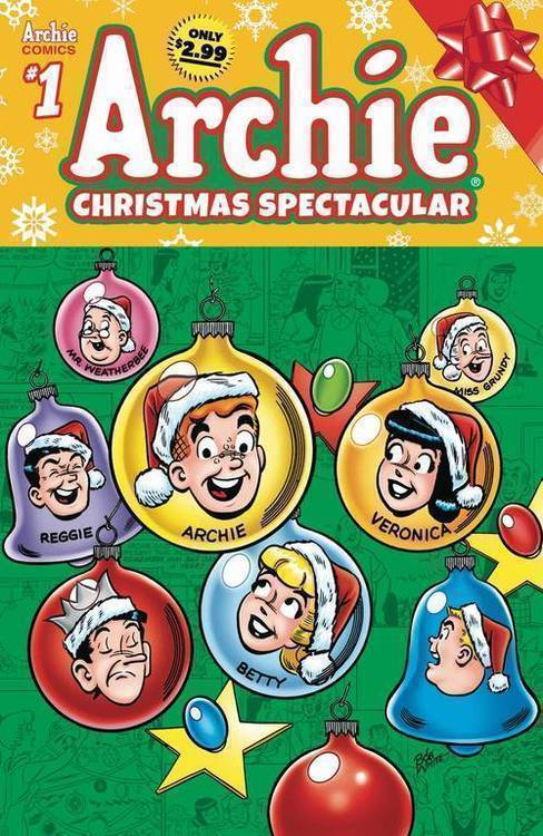 Archie comic publications archies christmas spectacular 20180928