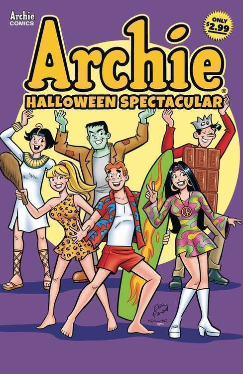 Archie comic publications archies halloween spectacular 20180801