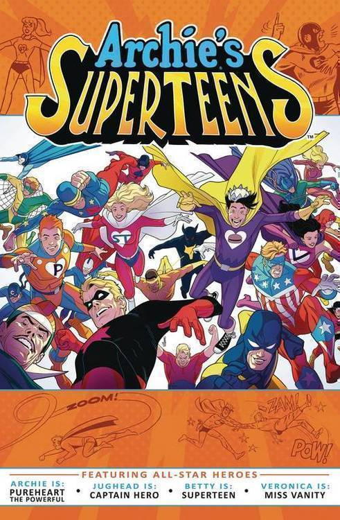 Archie comic publications archies superteens tpb 20190225