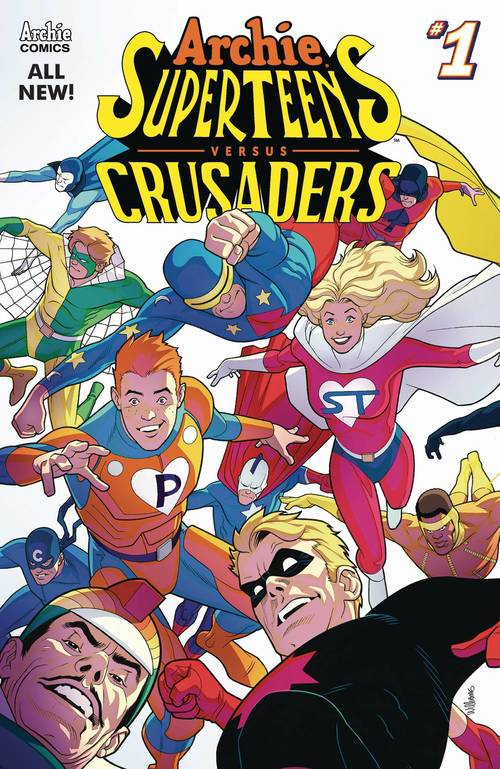 Archie comic publications archies superteens vs crusaders 20180329