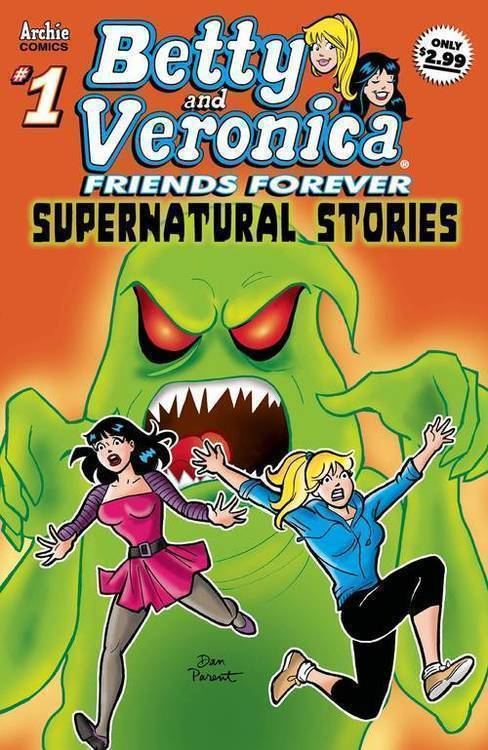 Archie comic publications betty and veronica friends forever supernatural volume 7 20190730