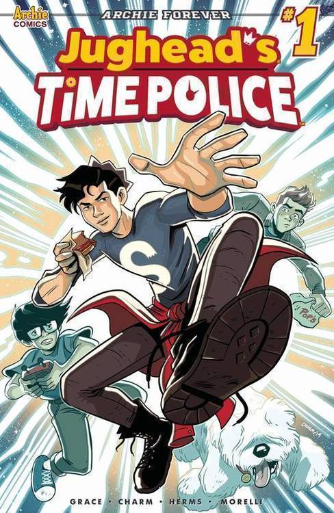 Archie comic publications jughead time police 20190327