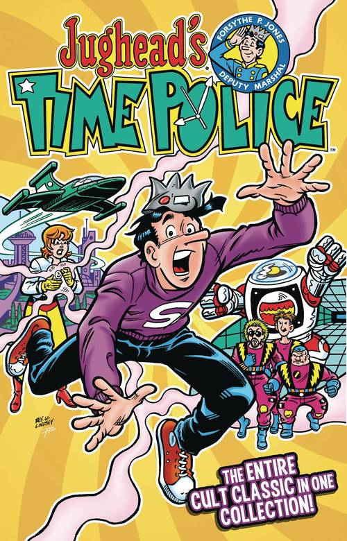 Archie comic publications jugheads time police tpb 20180203