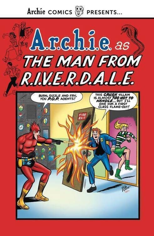 Archie comic publications man from riverdale tp 20181231