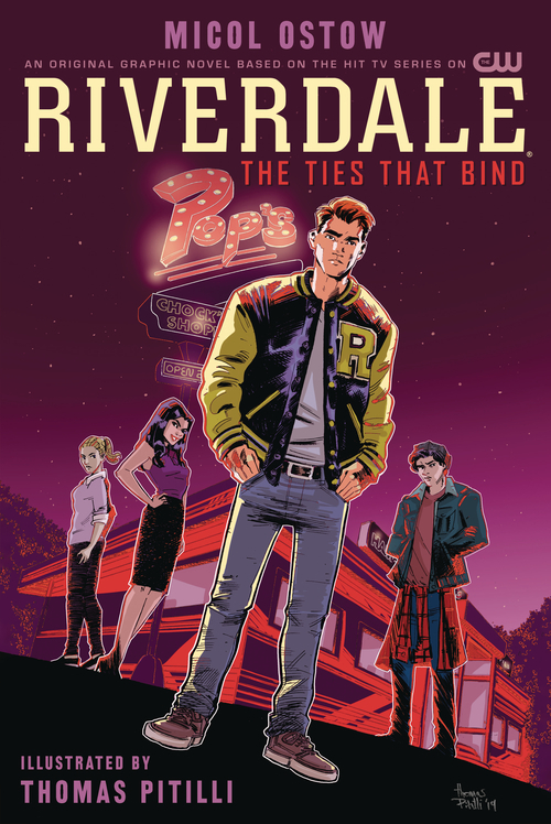 Archie comic publications riverdale ties that bind ogn 20201125