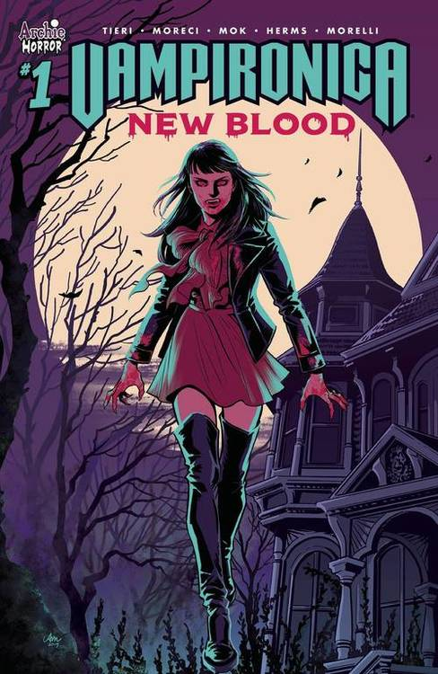 Archie comic publications vampironica new blood 20191001 docking bay 94
