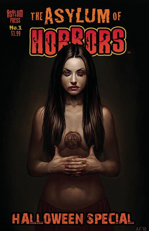 Asylum press asylum of horrors halloween special one shot 20210728