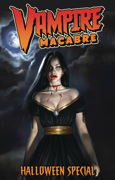 Asylum press vampire macabre halloween special one shot mature 20210630