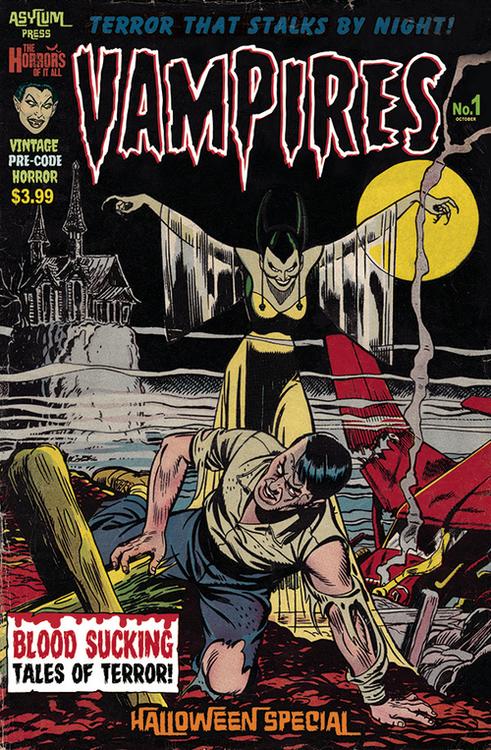 Asylum press vampires halloween one shot special edition mature 20210728