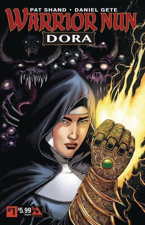Avatar press inc warrior nun dora regular 20190529