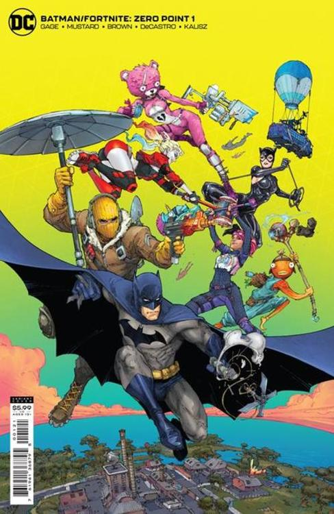 Batman fortnite zero point 1 cvr b kenneth rocafort card stock var 20210304 docking bay 94