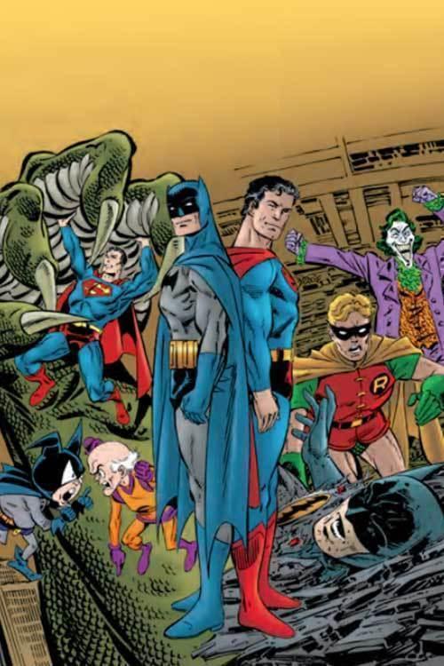 Batman superman generations omnibus