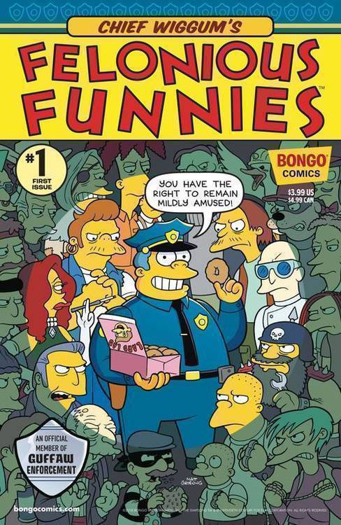 Bongo comics chief wiggums felonious funnies 20180701