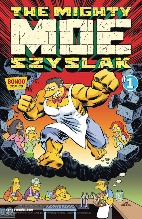 Bongo comics mighty moe szyslak one shot 20180302