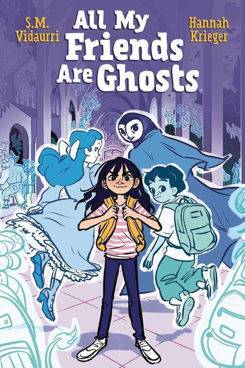 Boom studios all my friends are ghosts original graphic novel 20191031