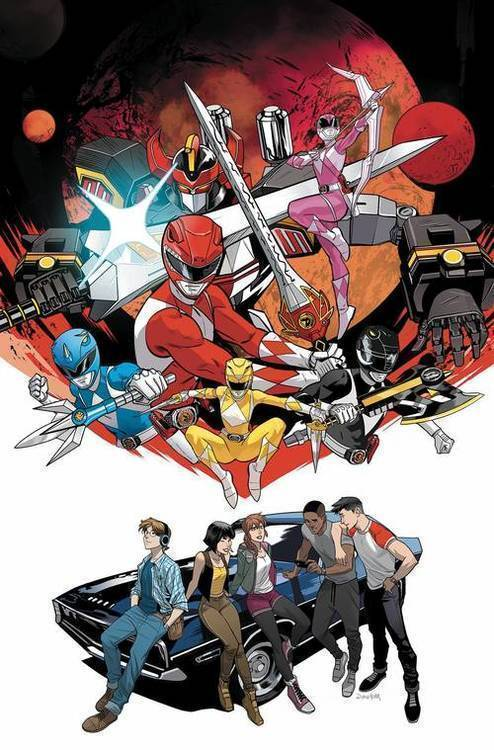 Boom studios go go power rangers back to school 20180701