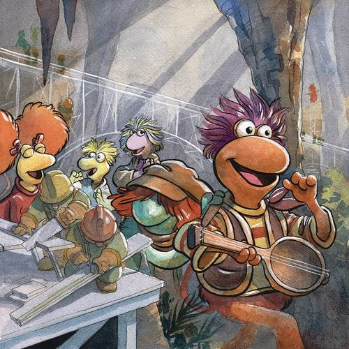 Boom studios jim henson fraggle rock main 20180302
