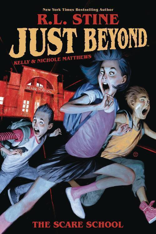 Boom studios just beyond scare school original graphic novel rl stine 20190424