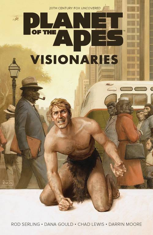 Boom studios planet of apes visionaries rod serling original hardcover 20180329