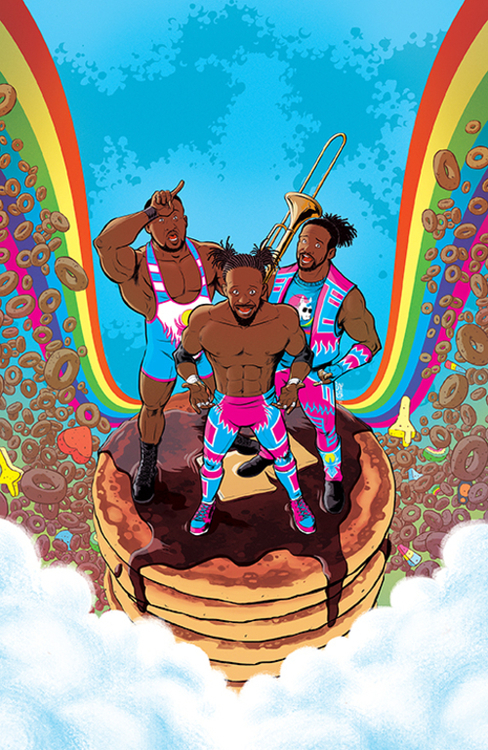 Boom studios wwe new day power of positivity 20210502