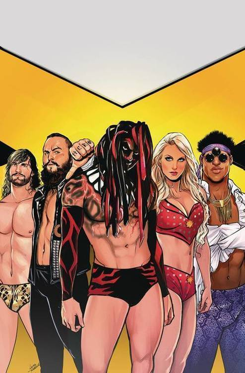 WWE NXT Takeover Blueprint