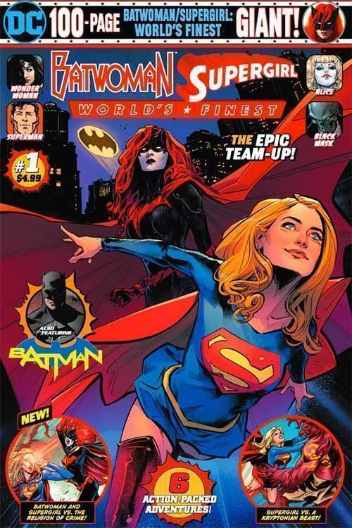 Batwoman Supergirl Worlds Finest Giant