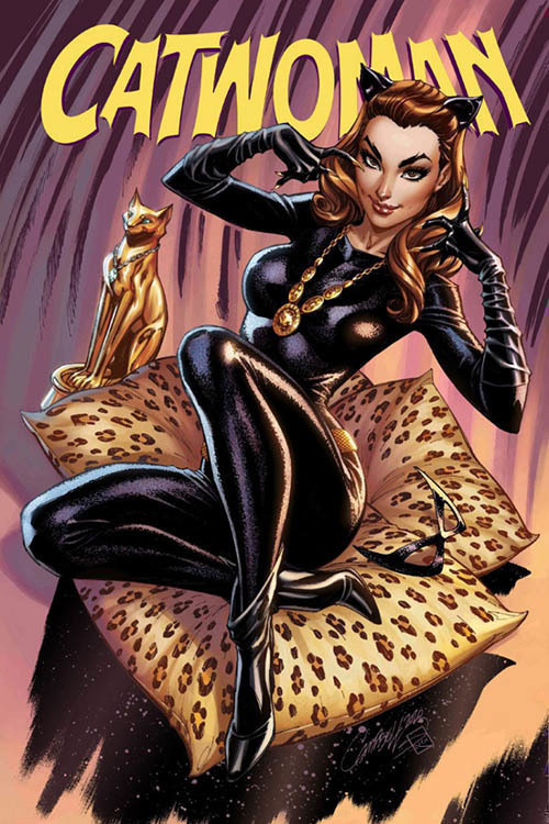 Catwoman 80th Anniversary 100 Page Super Spectacular #1 1960s J Scott Campbell Cover