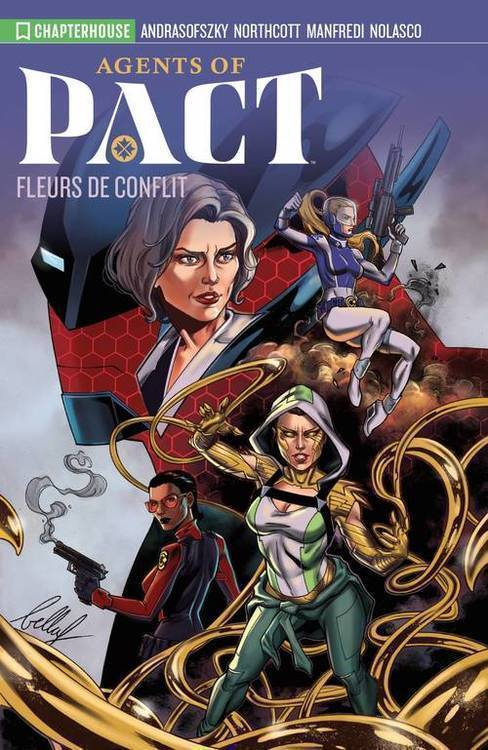 Chapterhouse publishing inc agents of pact tpb volume 1 20190926