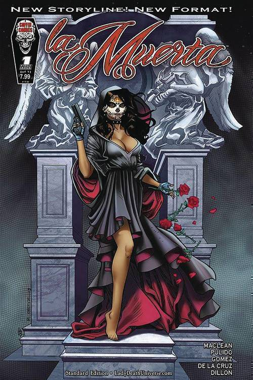 Coffin comics la muerta ascension one shot mature 20190626