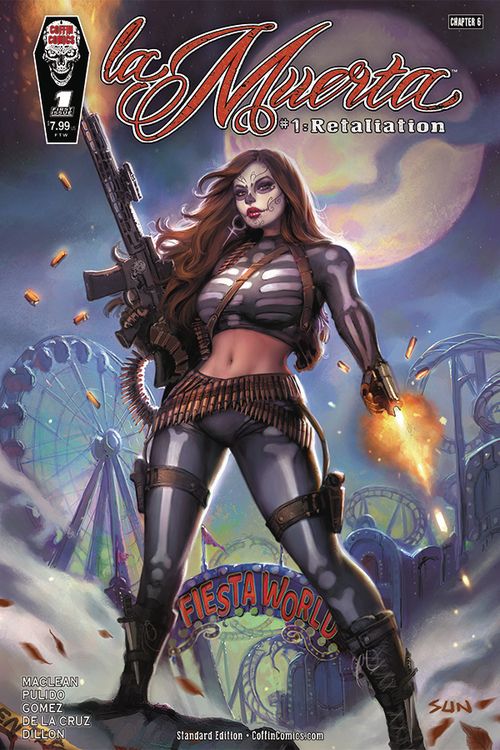 Coffin comics la muerta retailiation one shot mature 20210325