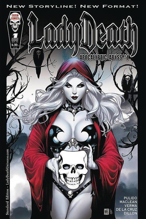 Coffin comics lady death apocalyptic abyss mature 20181025