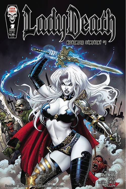Coffin comics lady death nightmare symphony 20190730