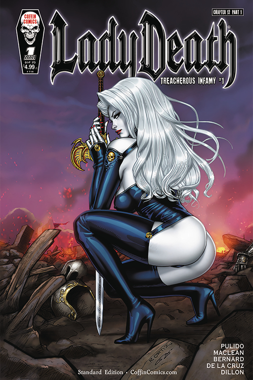Coffin comics lady death treacherous infamy 20210502
