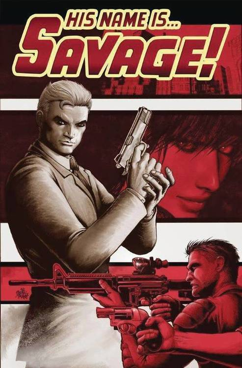 Comicmix his name is savage graphic novel volume 1 20190926