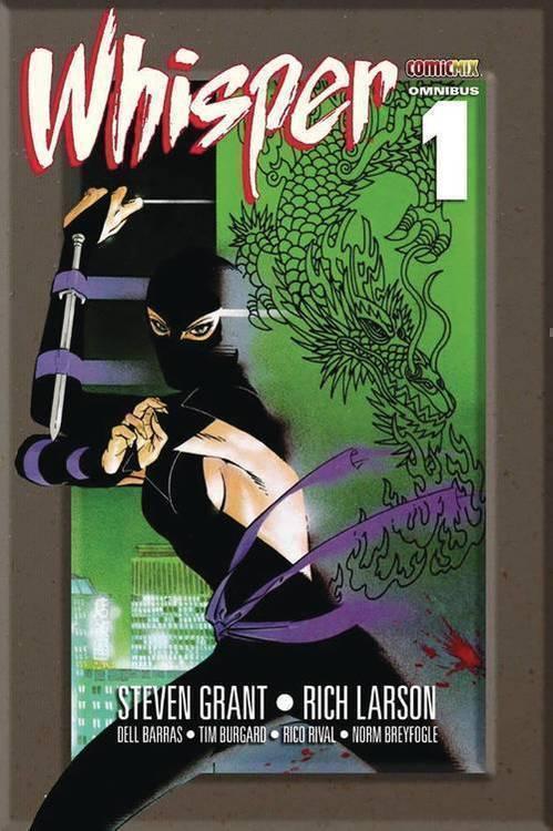 Comicmix whisper omnibus tpb volume 1 20191031