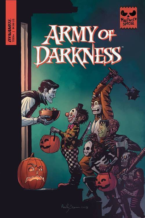D e army of darkness halloween special one shot 20180801