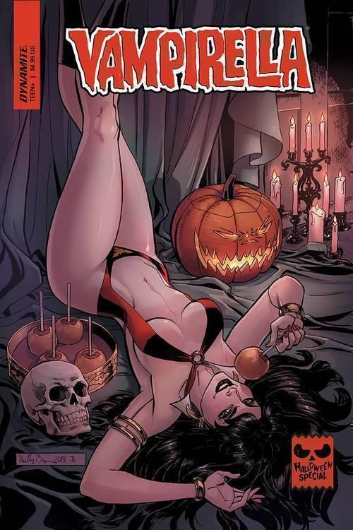 D e vampirella halloween special one shot 20180801