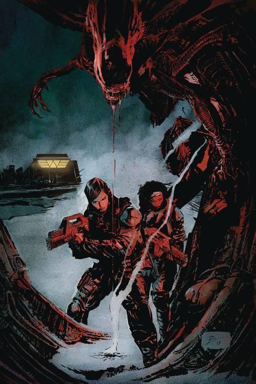 Dark horse comics aliens resistance 20181025