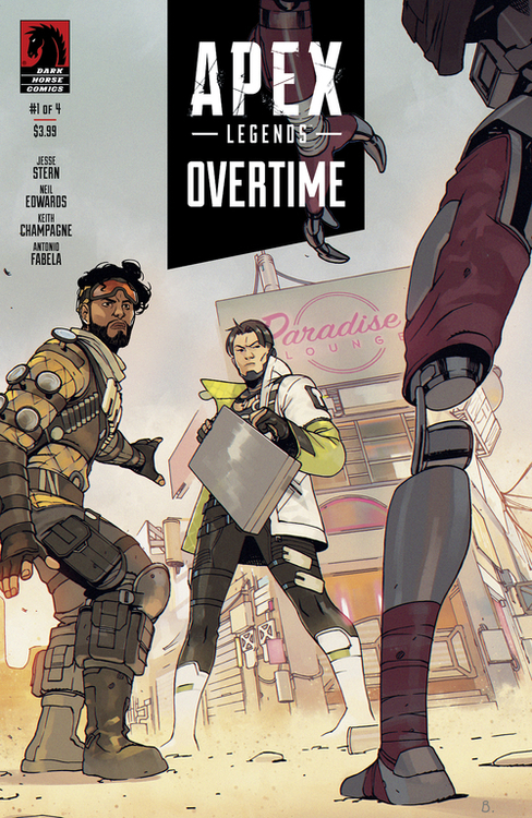 Dark horse comics apex legends overtime 20210325