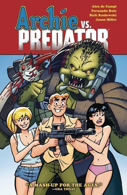 Dark horse comics archie vs predator tpb 20190327