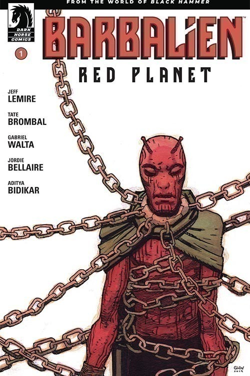 Dark horse comics barbalien red planet 20200328