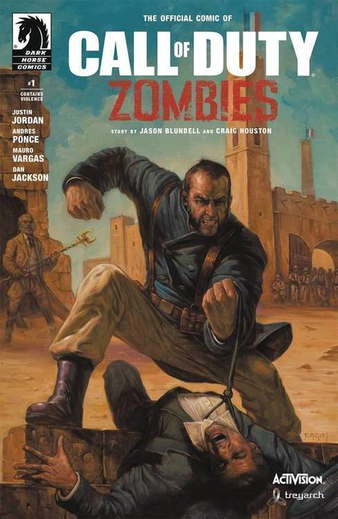 Dark horse comics call of duty zombies 2 20180701