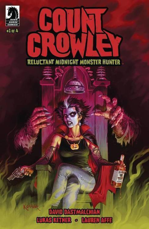 Dark horse comics count crowley reluctant monster hunter 20190730