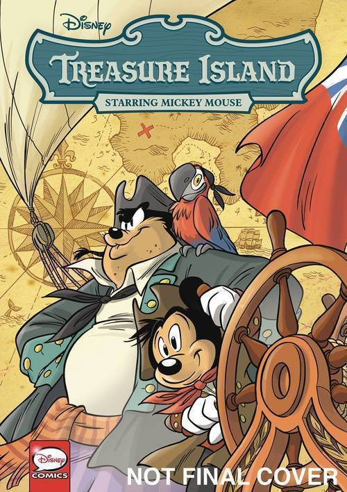 Disney Classics Treasure Island Starring Mickey Mouse