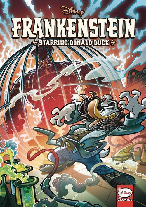 Dark horse comics disney frankenstein starring donald duck tpb 20190225