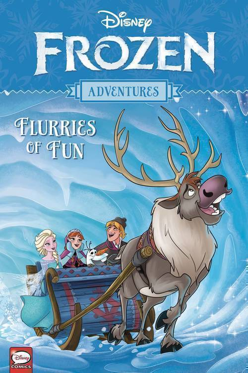 Disney Frozen Adventures TPB Flurries Of Fun
