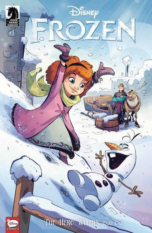 Dark horse comics disney frozen hero within kawaii creative studio 20190327