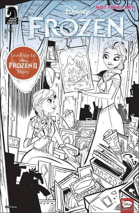Dark horse comics disney frozen true treasure 20190828