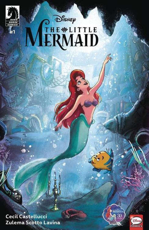 Dark horse comics disney the little mermaid 20190730