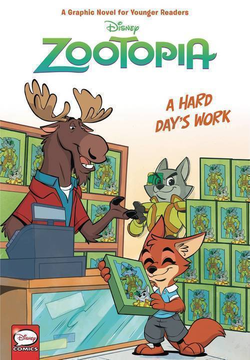 Disney Zootopia Hardcover Hard Days Work (Younger Readers)